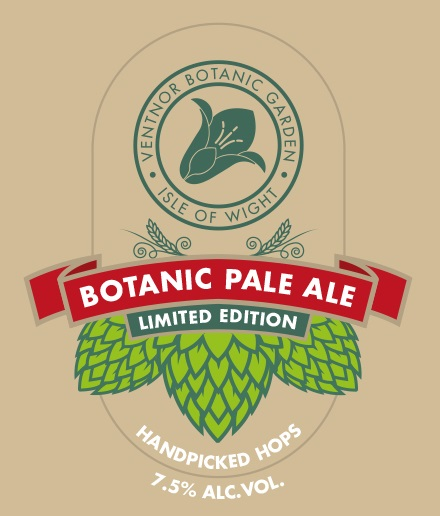limited edition botanic pale ale has arrived ventnor botanic garden. Black Bedroom Furniture Sets. Home Design Ideas