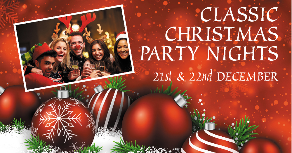 whether you are organising work celebrations or planning a friends get together a classic christmas party with us offers a great opportunity to let your - Classic Christmas